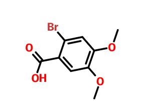 2-溴-4,5-二甲氧基苯甲酸
