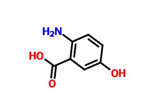 2-氨基-5-羟基苯甲酸