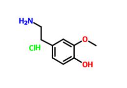 2-甲氧基-4-(2-氨基乙基)苯酚