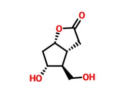 (-)-6beta-羟甲基-7alpha-羟基-顺式-2-氧杂双环[3.3.0]辛-3-酮