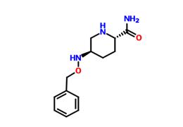 (2S,5R)-5-[(苯基甲氧基)氨基]-2-哌啶甲酰胺