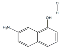 7-氨基-1-羟基萘盐酸盐