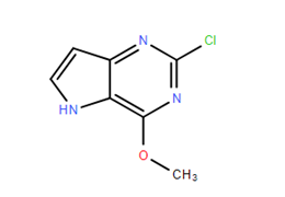 2-chloro-4-methoxy-5H-pyrrolo[3,2-d]pyrimidine