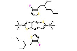 (4,8-双(5-(2-乙基己基)-4-氟噻吩基)苯并[1,2-b:4,5-b']二噻吩基)双(三甲基锡基)