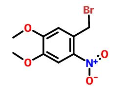 4,5-二甲氧基-2-硝基溴苄