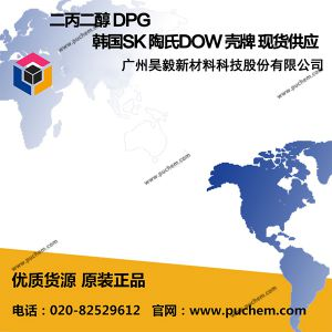 二丙二醇 DPG 韩国SK 陶氏DOW 壳牌 现货供应
