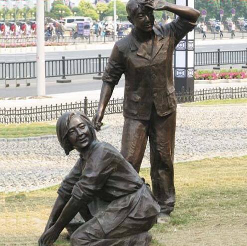 上海街头铜雕工程
