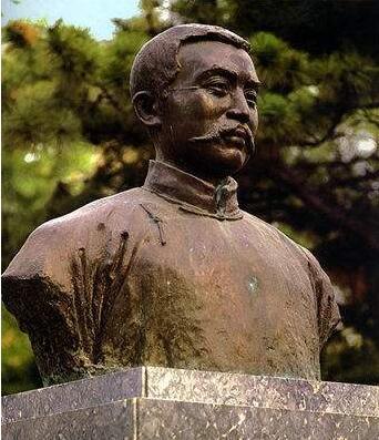 李大钊半身铜像