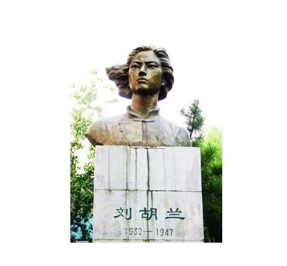 刘胡兰铜雕厂家