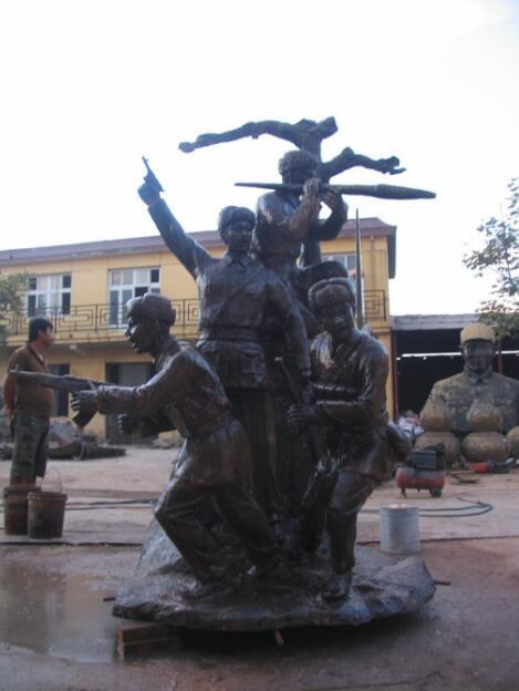 狼牙山五壮士雕像厂家