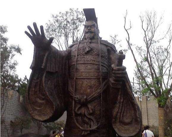 秦始皇铜雕塑厂家