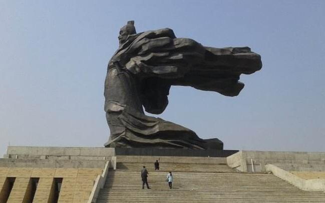 刘邦铜雕塑