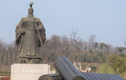 大型刘邦铜像