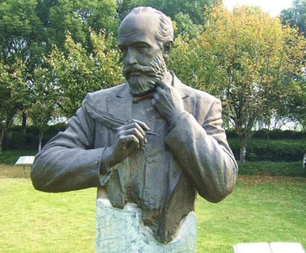 门捷列夫铜雕塑