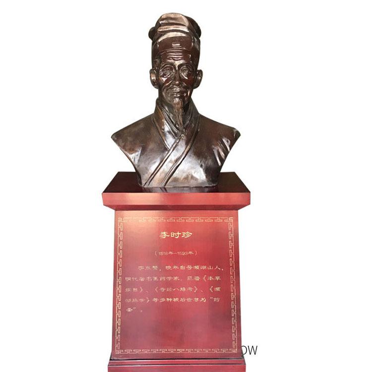 古代李时珍伟人塑像