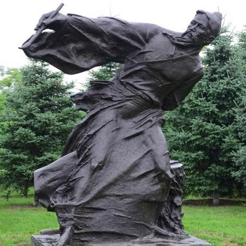 德州人物铜雕塑