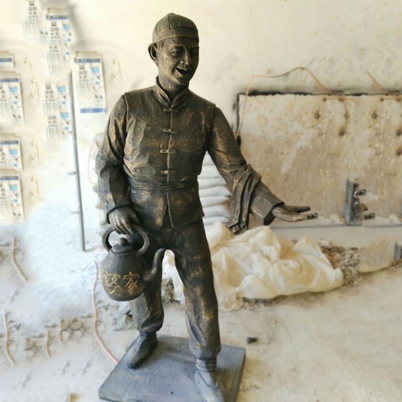潍坊人物铜雕
