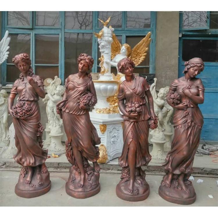 欧式人物铜雕塑