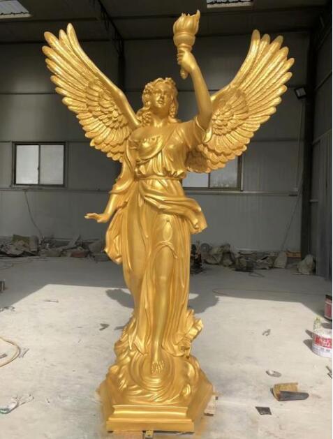 西方人物雕塑@胜利女神像