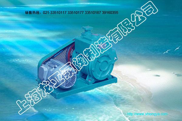 2X型卧式皮带式真空泵
