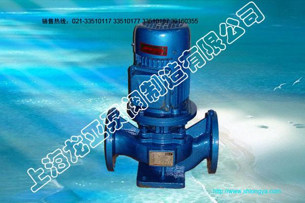 ISG 系列单级单吸立式管道离心泵