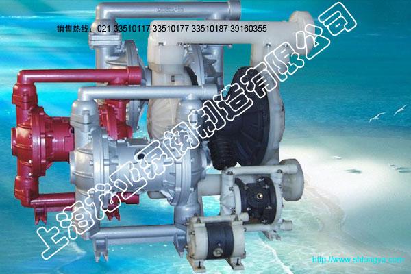 QBK氟塑料气动隔膜泵