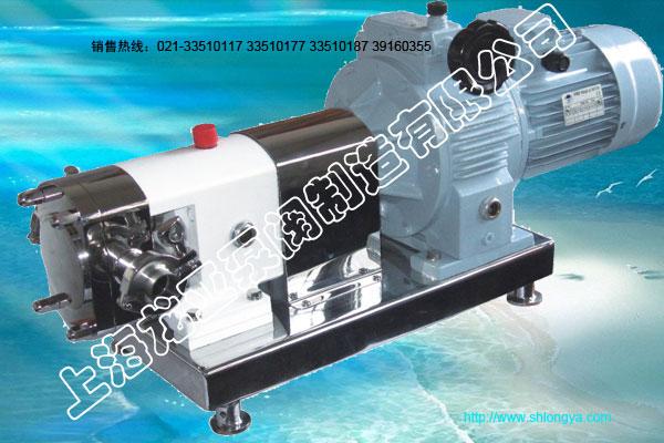 RP型无极调速型转子泵