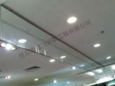 玻璃垂壁控制
