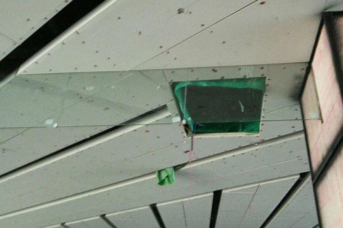玻璃挡烟垂壁工程