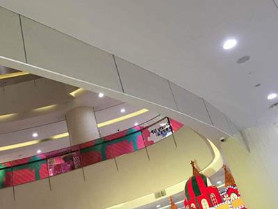 卷帘式垂壁外观