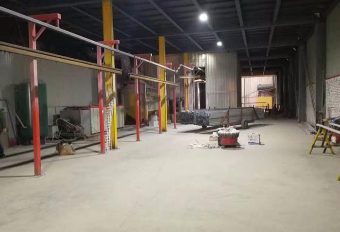 河北省任丘市中辉铝业生产环境