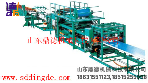 岩棉成型机Rock wool molding machine