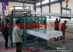 岩棉复合板生产线Composite rock wool board production line