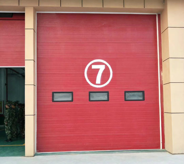 消防工业门故障排除