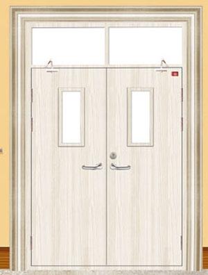 木质门扇与门框间隙要求: