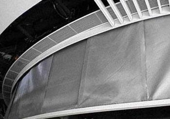 不同形式垂壁特征