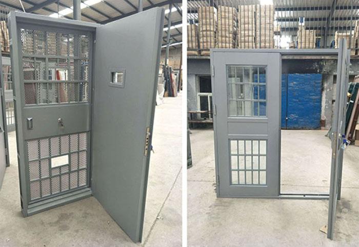 智能监狱门设计优点: