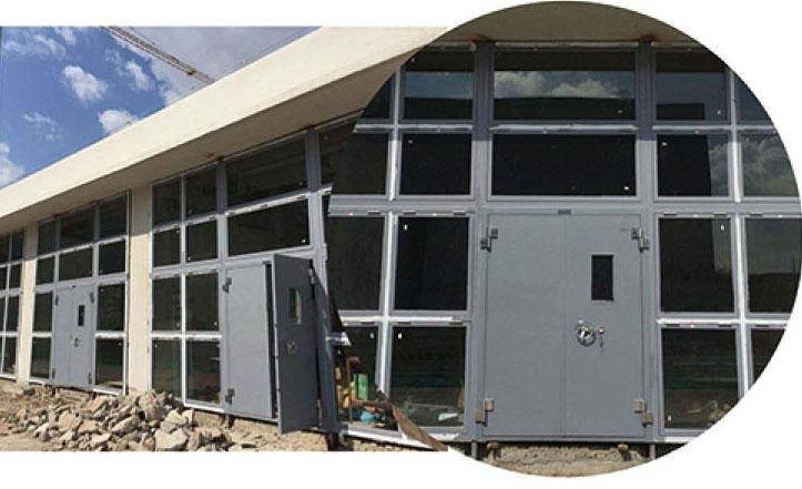 钢制防爆窗设计
