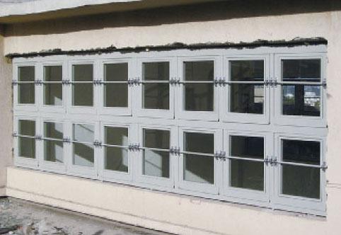 泄爆窗适用什么材质