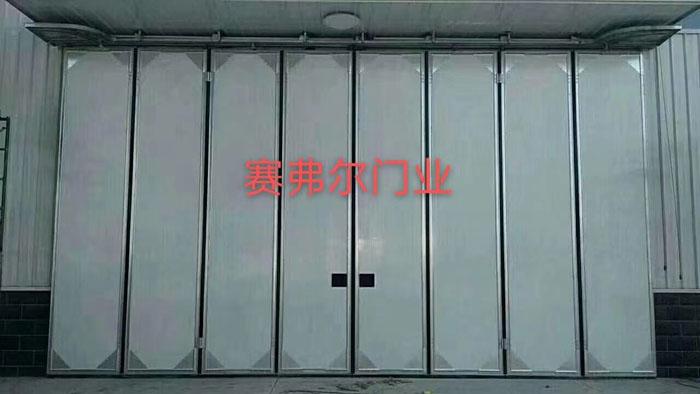 折叠工业门配置