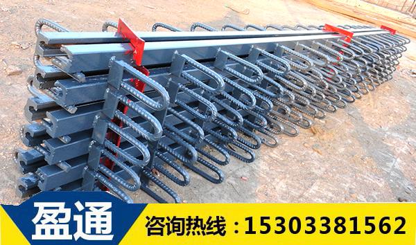 GQF-C型桥梁伸缩缝钢筋样式