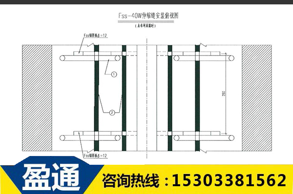 Fss- 40W型桥梁伸缩缝钢筋布局图.jpg
