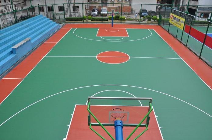 沈阳篮球塑胶地板