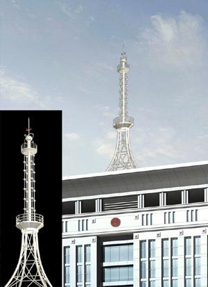 >> 不锈钢工艺装饰塔