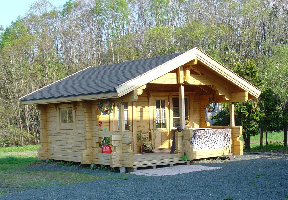 原木生态木屋
