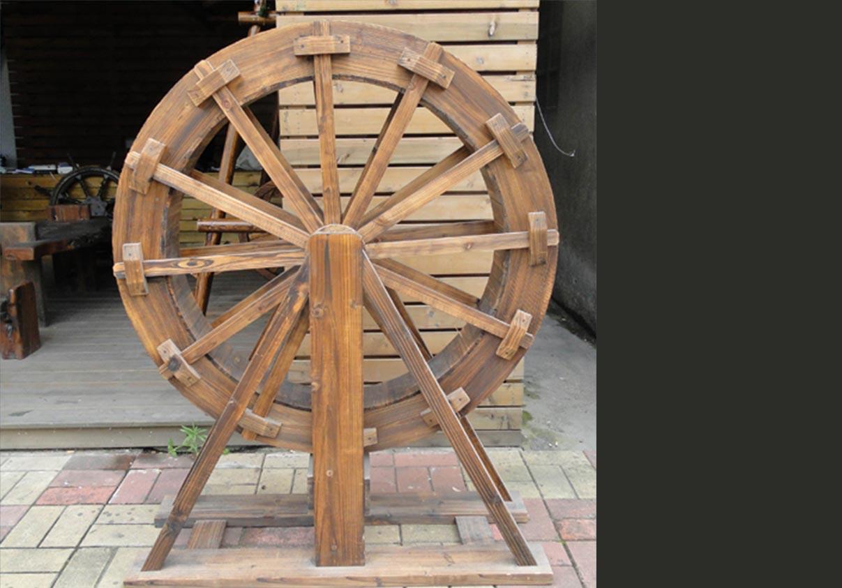 木质小水车