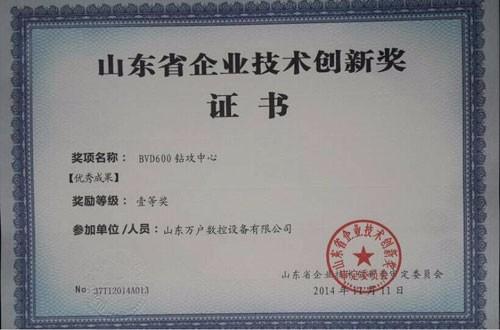 企业技术创新奖