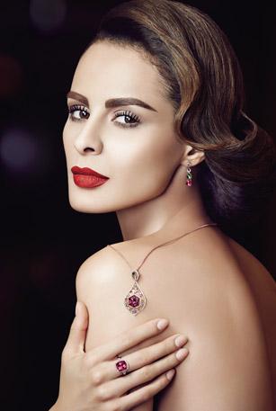 珠宝模特形象片拍摄案例