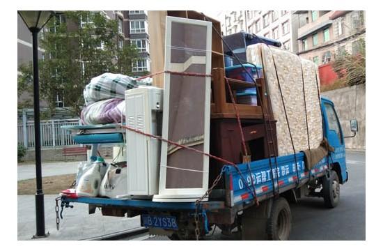 绵阳搬家衣物整理,其实并不是想的那么贵居民搬家费用