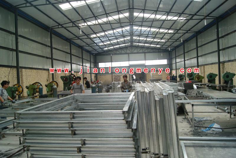 坚龙公司生产加工环境